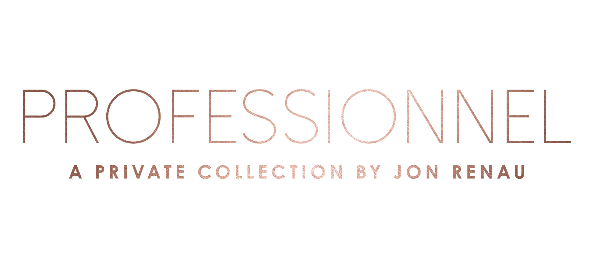 Jon Renau Professionnel private collection logo on aspire hair website