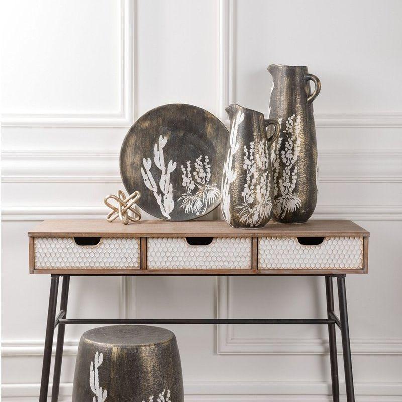Shop Silhouette Antiqued Ceramic Jar