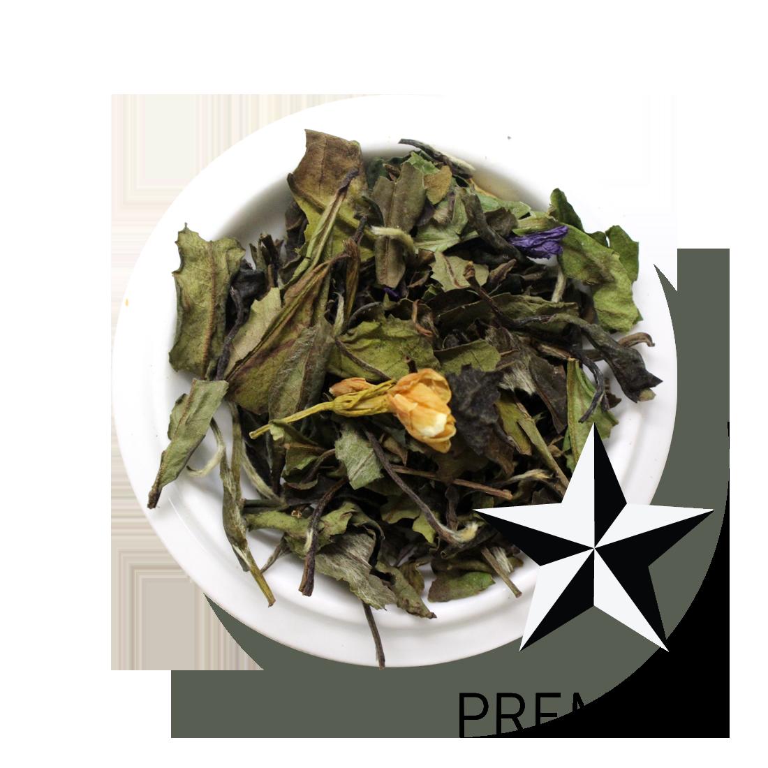 Premium White Tea Organic Bergamot Vanilla