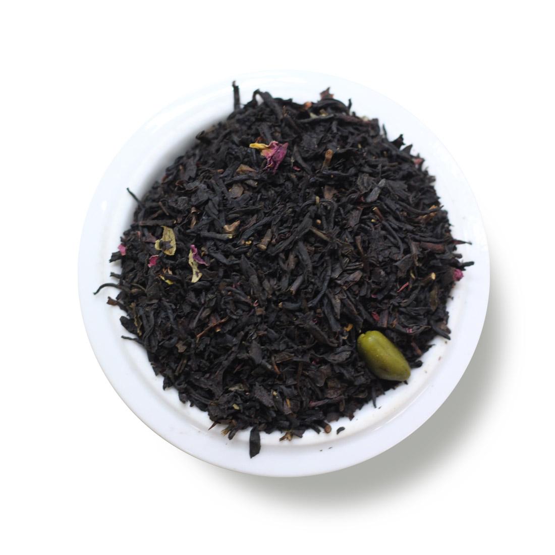 Black Tea Pistachio Marzipan