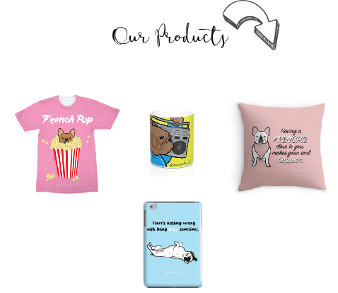 Frenchie Love - French Bulldog Gifts