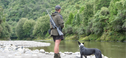 Outdoor hunting clothing tested and Designed in New Zealand