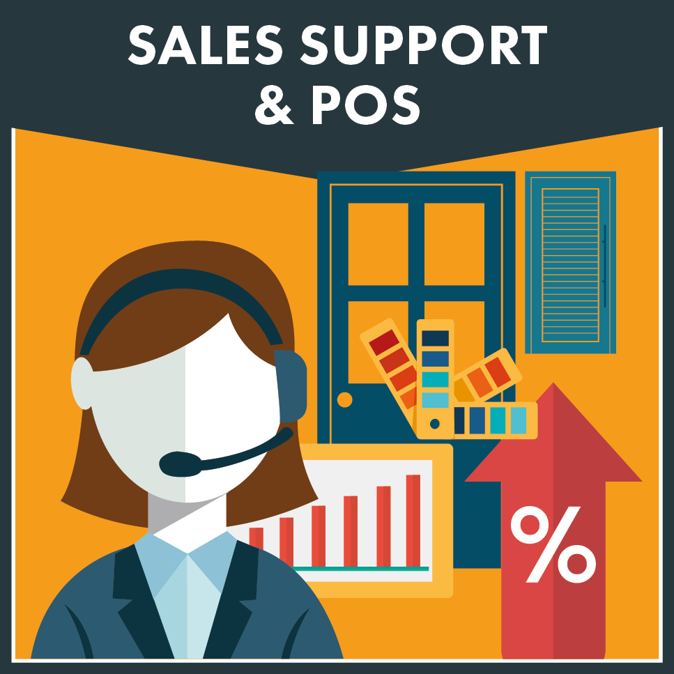 sales support and pos