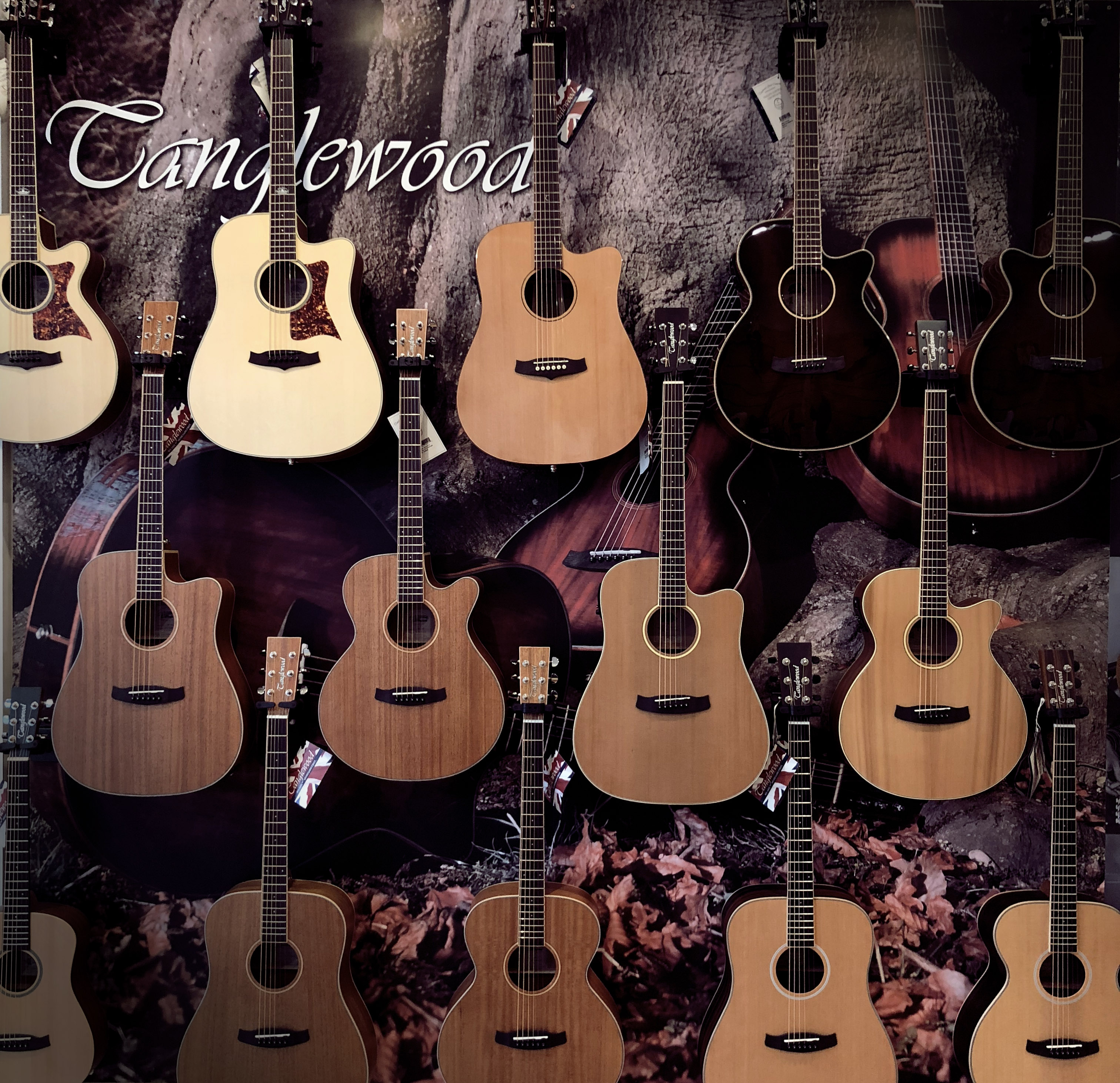 Tanglewood Guitars Melbourne Australia - Guitar Station South Yarra
