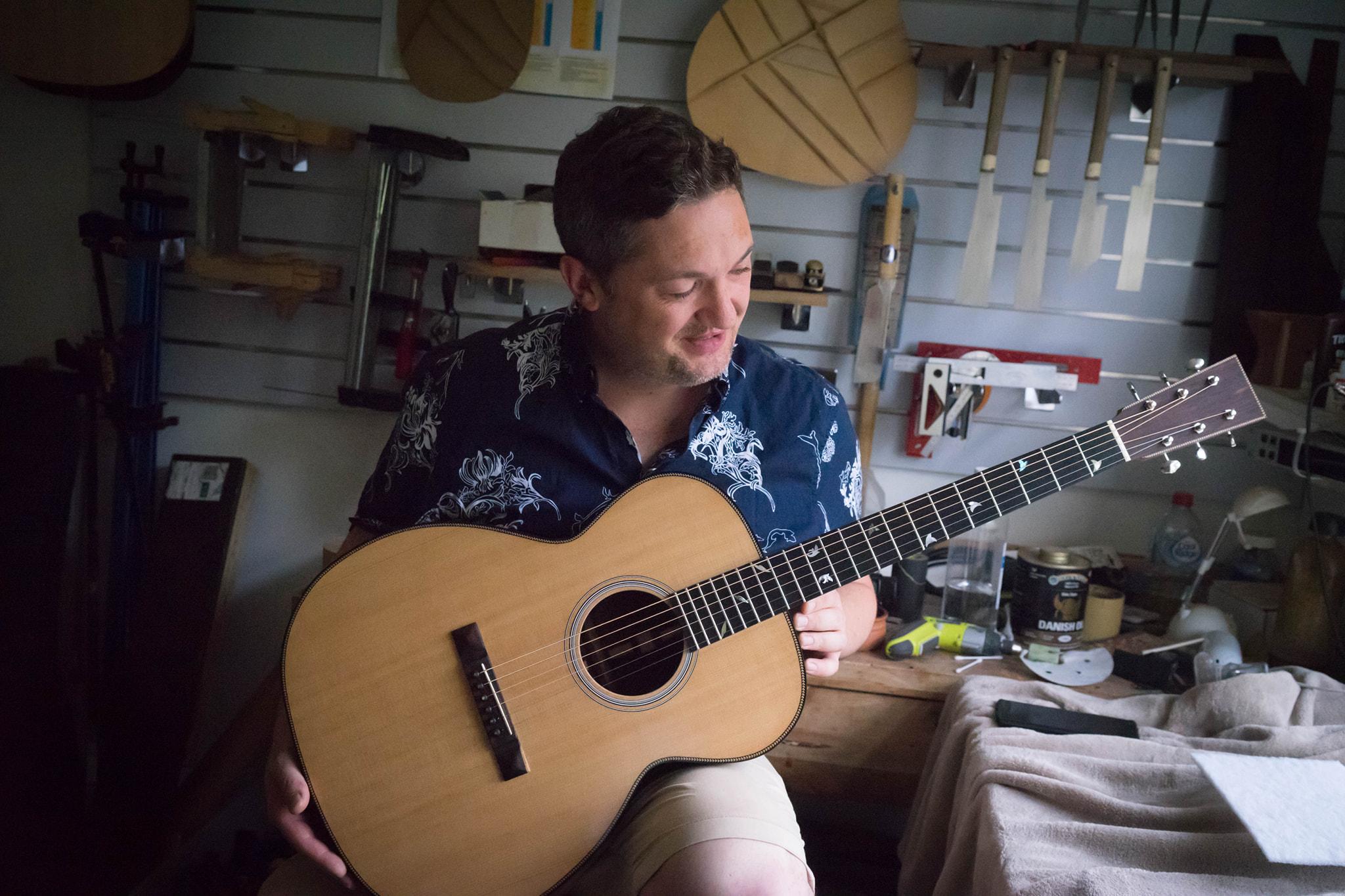 Soxy Guitar Repair Setup - Melbourne Guitar Luthier Joseph Price