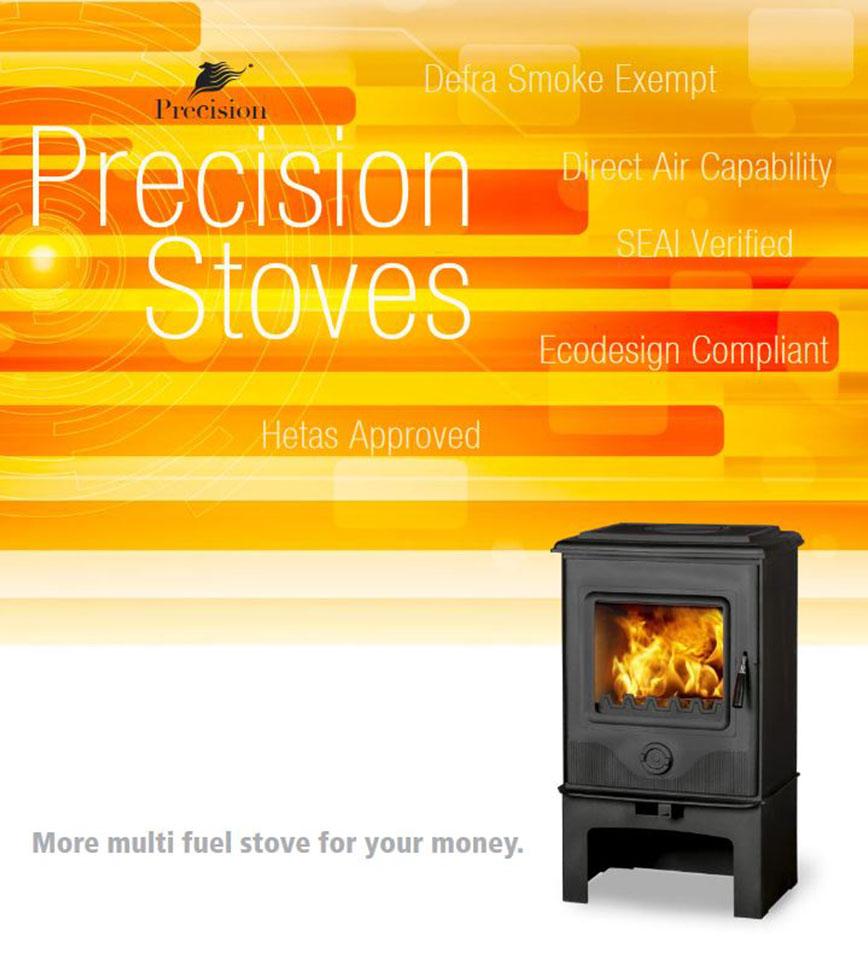 Precision Eco Design Stoves