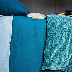 Bettbezug aus Leinen