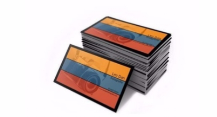 Impresion de tarjetas de visita