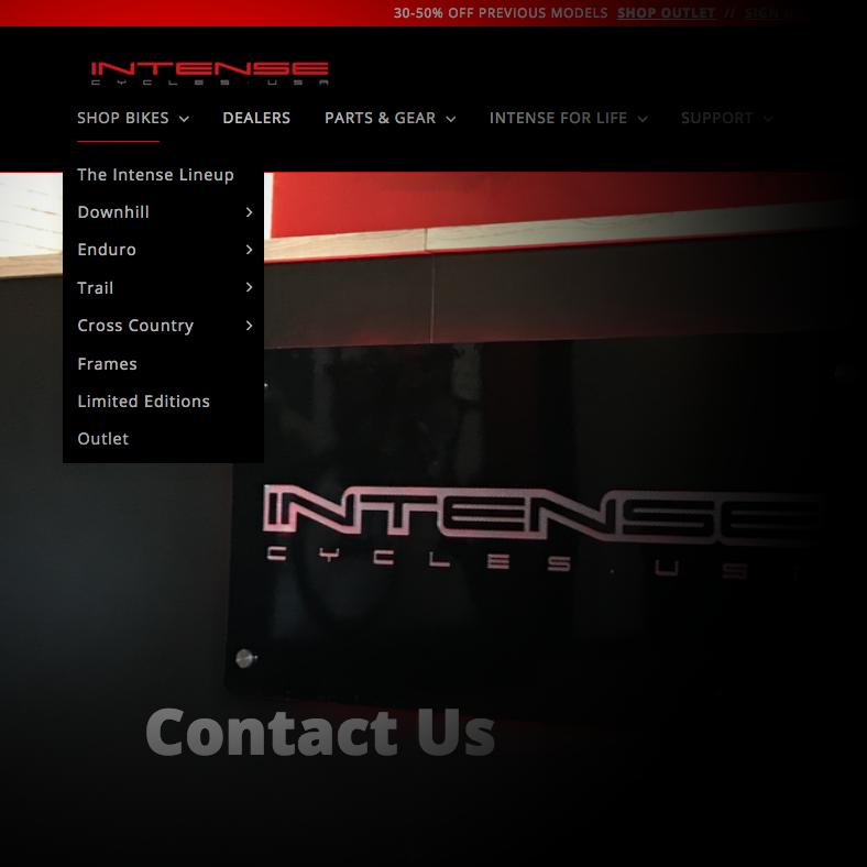 INTENSE FINANCING – Intense LLC