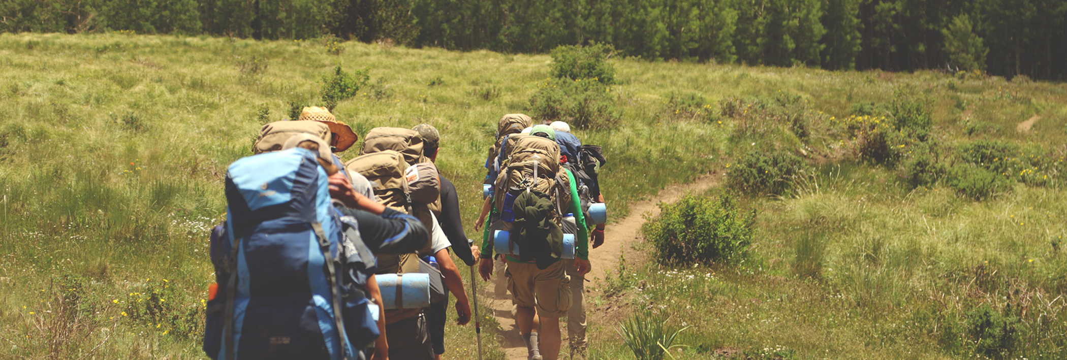 Group hiking - ithriveX Performance Cream provides muscle & joint pain relief.