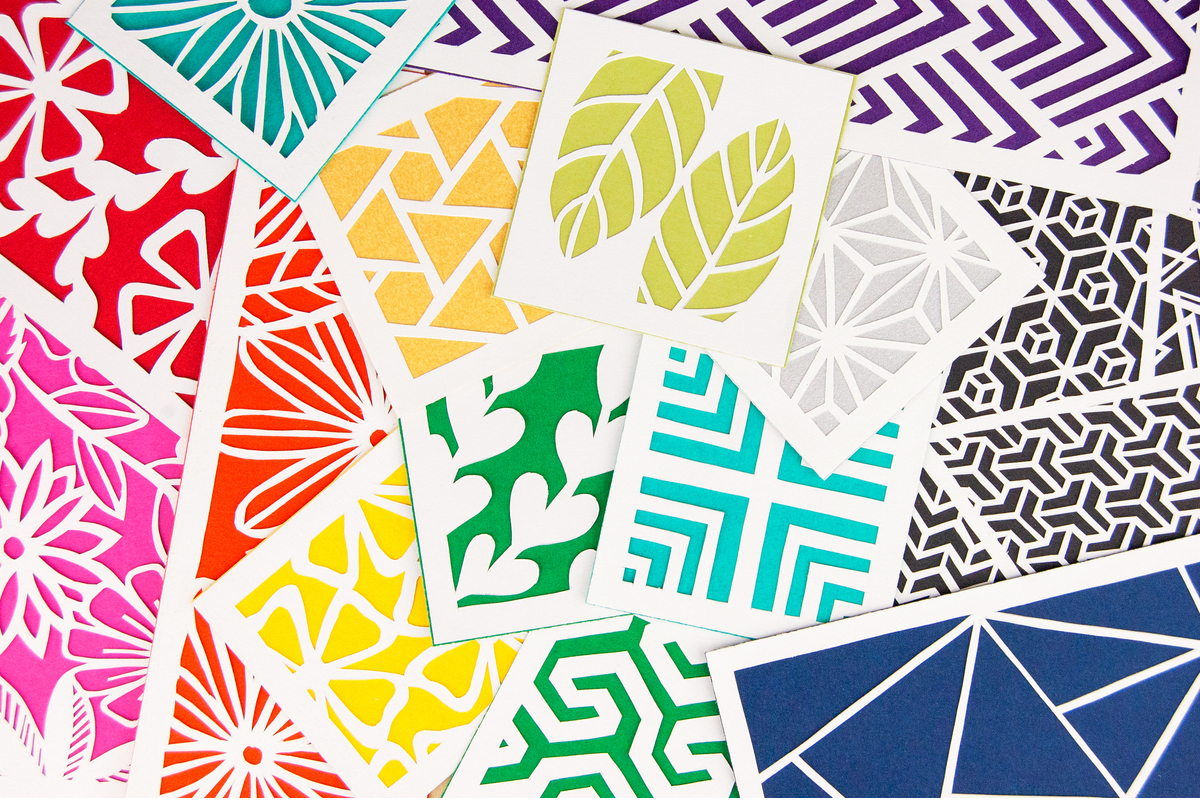 Paper Cutting Kits by Alisa Blundon