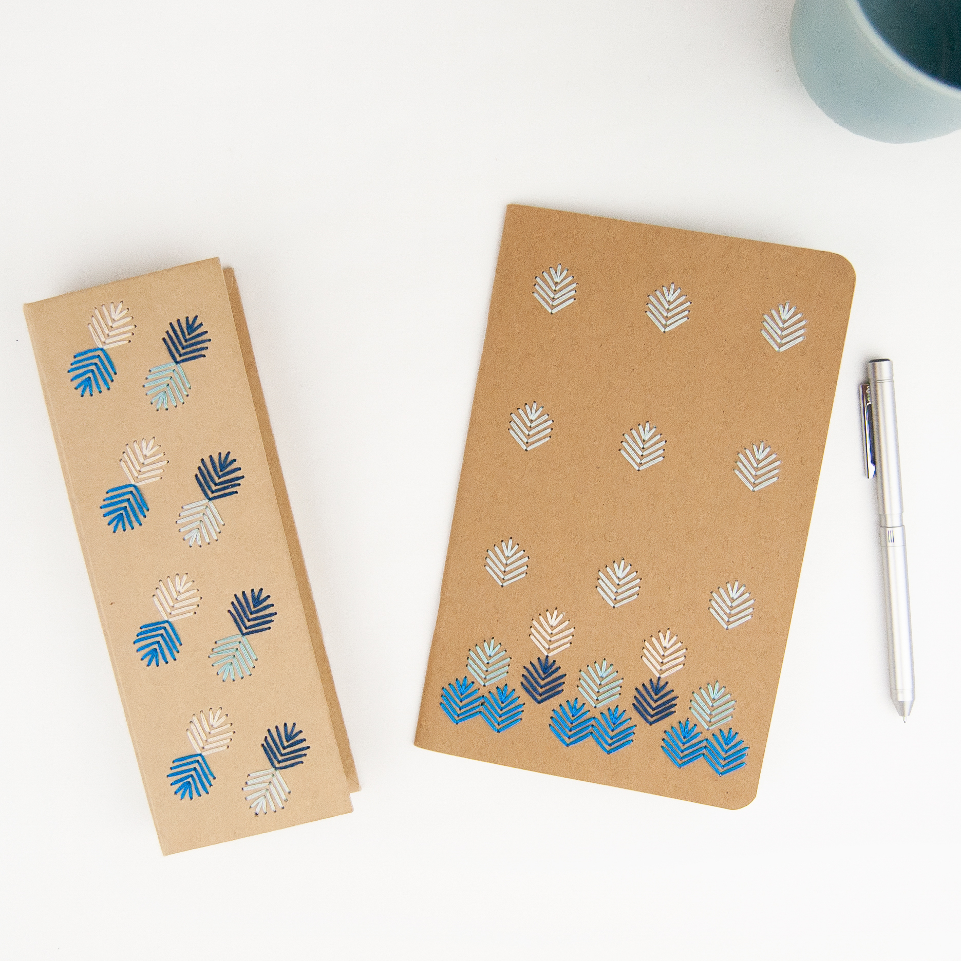 Stationery Embroidery Kit