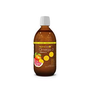 Nutri-Sea Fish oil with Vigtamin D - Grapefruit
