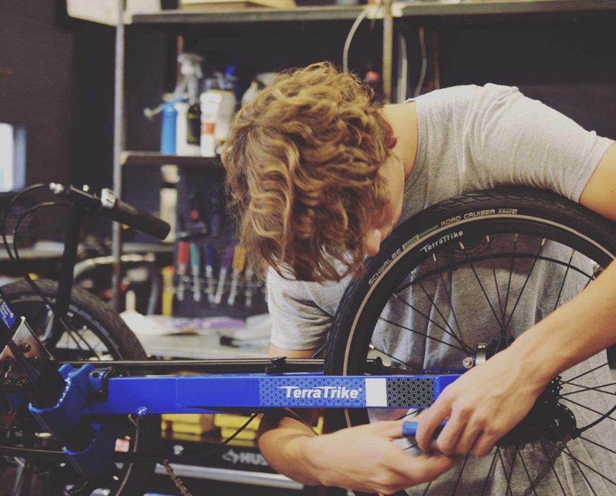 Bike repair in Dunedin