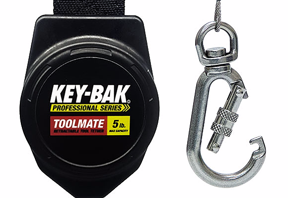 toolmate rewinding tool tethers – key-bak retractable reels