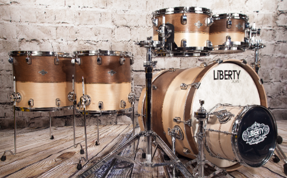 View Liberty Drums Fusion Series