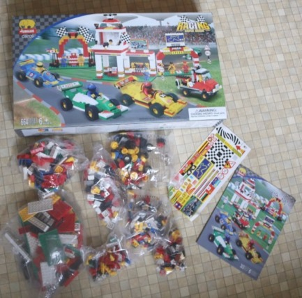 Formula One Brick Building Set