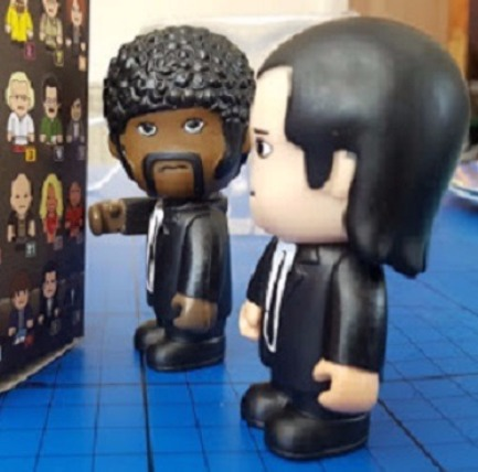 Toonstars Pulp Fiction Hitmen Vinyl Figures