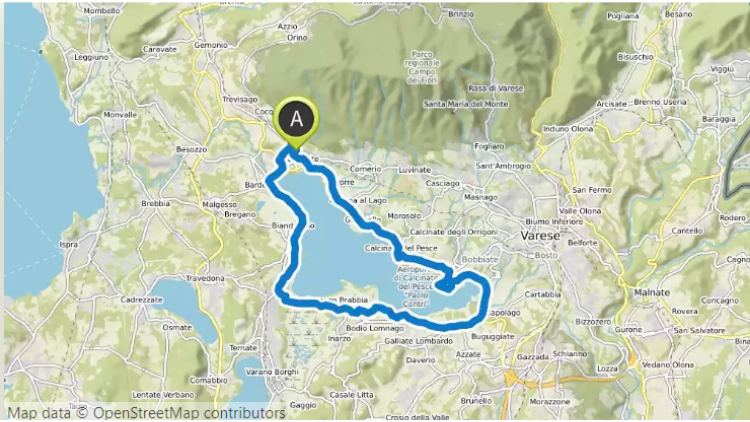 Bike Routes Livelo Canberra Canberra City to Mt Stromlo and return via Lake Burley Griffin