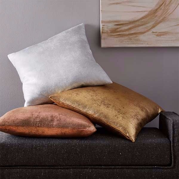 St. Jude Metallic Foil Pillow Cover  - $44.00 USD