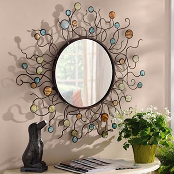 Mermaid Metal Mirror - $69.99 USD