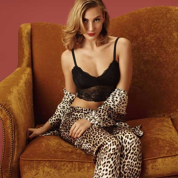 Bettina Tailored PJ set in Printed Leopard