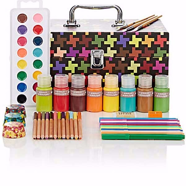Kid Made Modern Art Supplies Tool Box - $35.00 USD