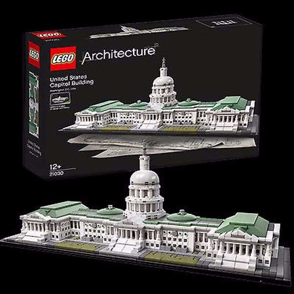 Lego Set United States Capitol Building - $99.99 USD