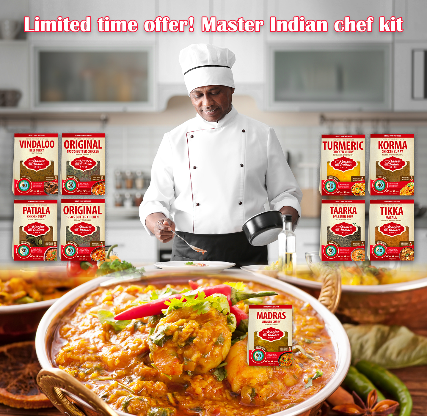 Master Indian Chef Kit
