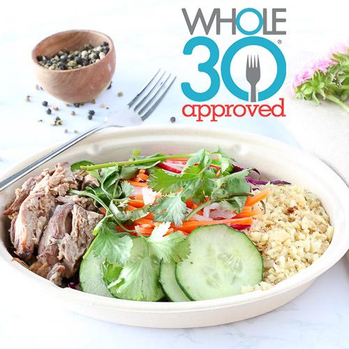 Whole30 Meal Plans Meaningful Foods Meal deliver Portland Oregon