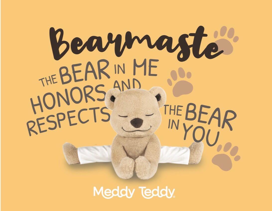 Meddy Teddy teaches yoga and meditation
