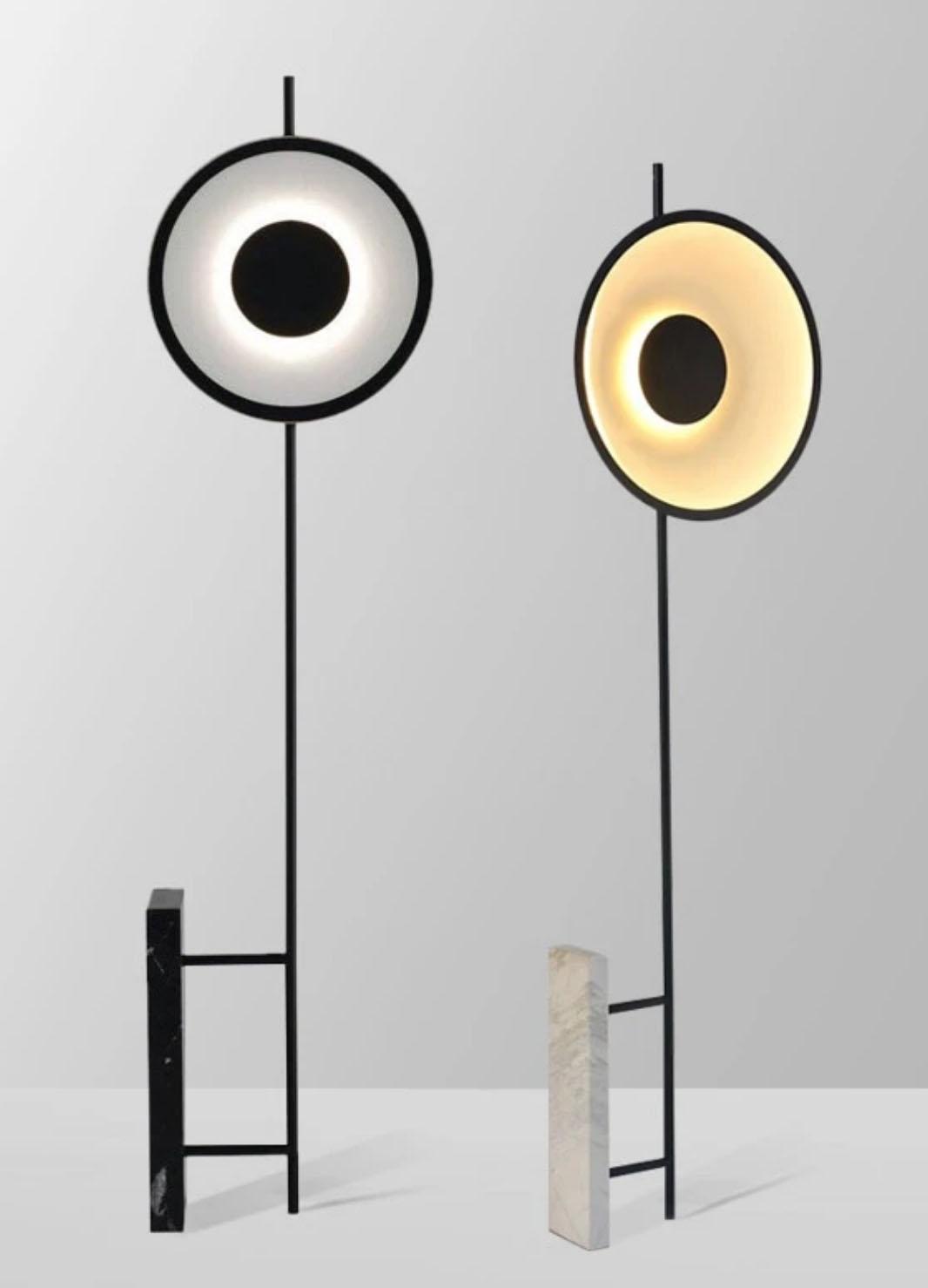 Eero White Floor Lamp