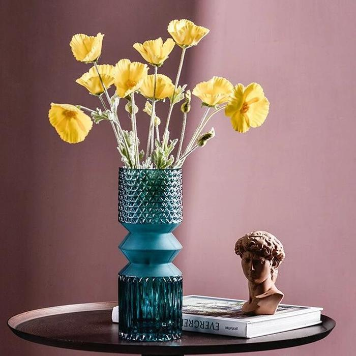 Adriana Blue Vase