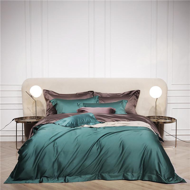 Rosa Green Brown Bedding