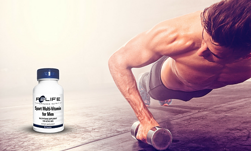 Athletes takes P2Life Sport Multivitamin For Men