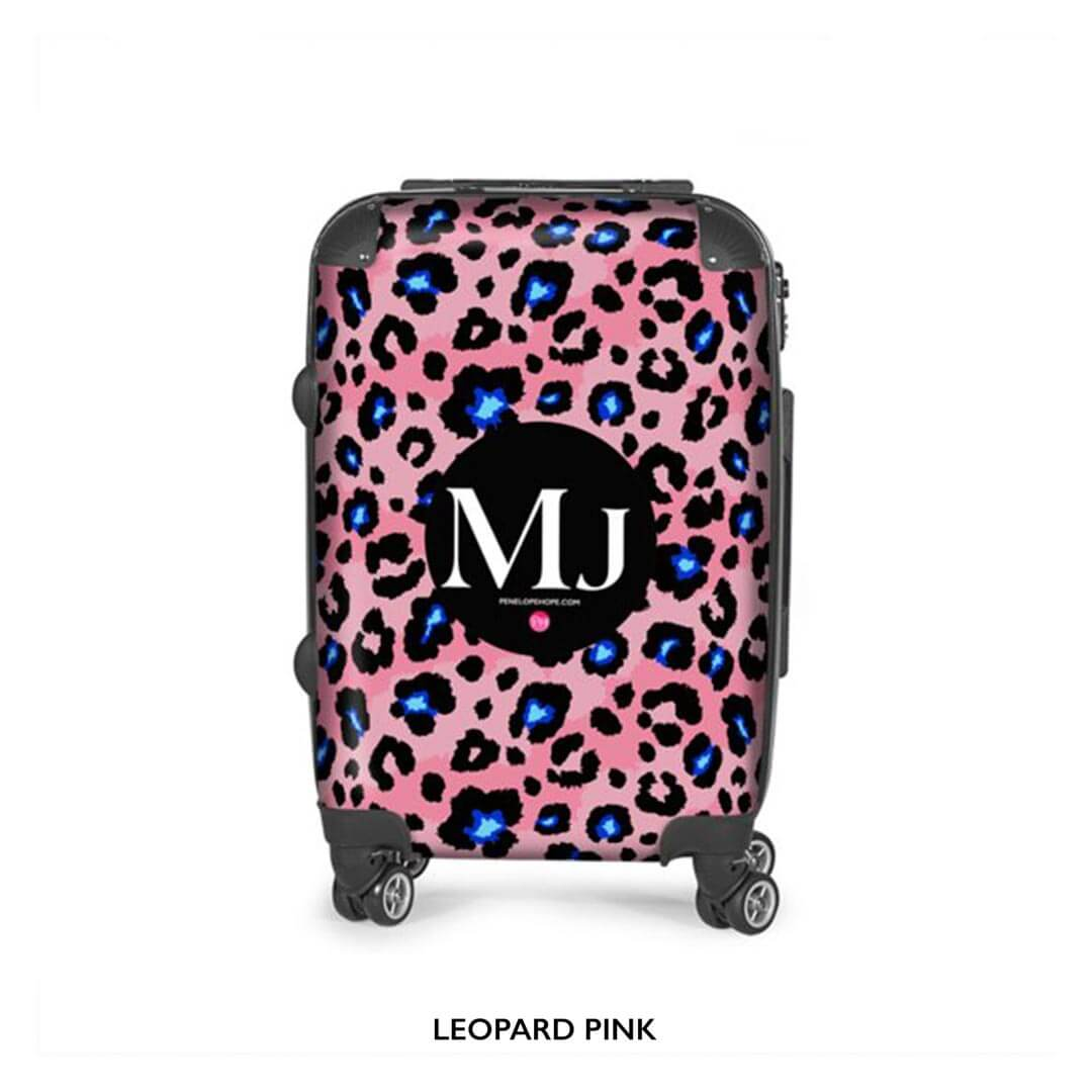 Pink Coral Suitcase