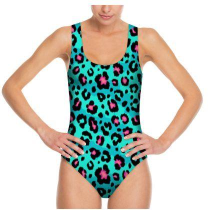 Scoop Neck Swimsuit design options