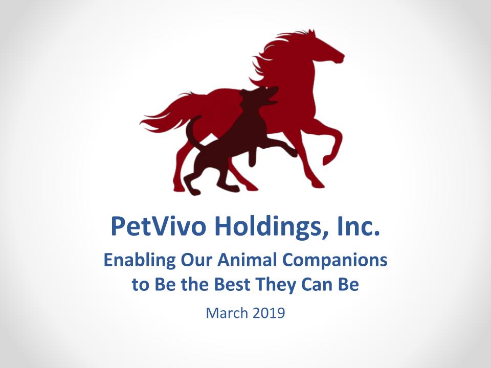 Petvivo Corporate Slide Deck