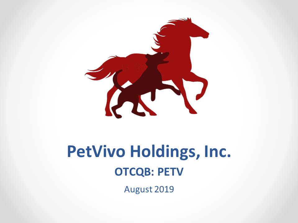 Petvivo Corporate Slide Deck