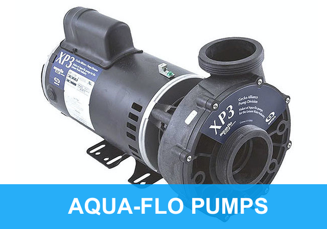Aqua-Flo Spa XP pumps