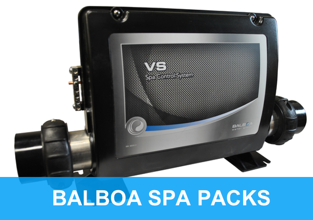 Blaboa Spa Control Packs and Top Side Controls
