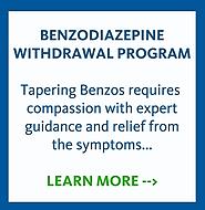 Benzo Withdrawal Program Info