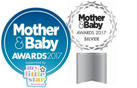 Silver award in Mother & Baby Awards 2017