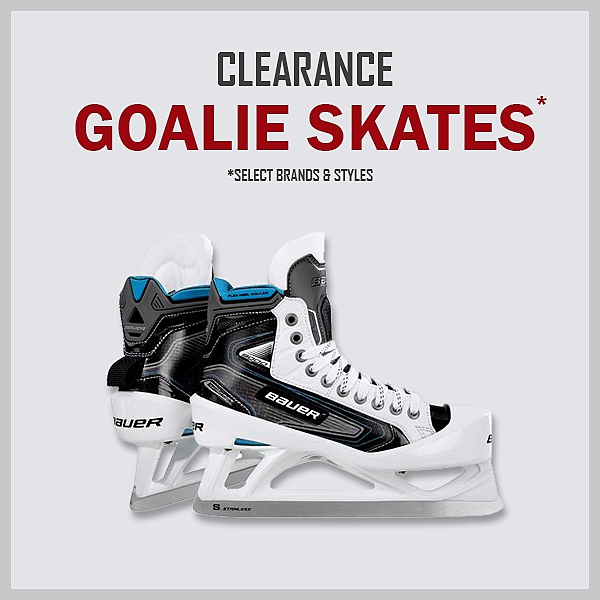 Clearance Goalie Skates