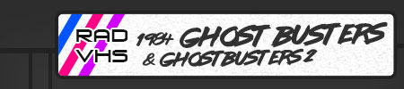 1984 Ghost Busters & Ghostbusters 2