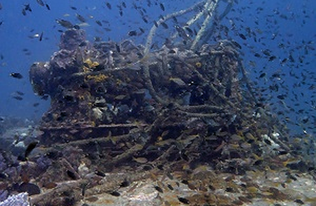 King Cruiser is the most famous wreck in southern Thailand