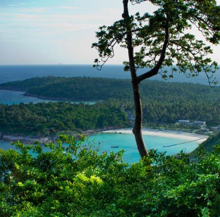 Snorklausta ja saariretkiä Raya Yain saarella Thaimaassa