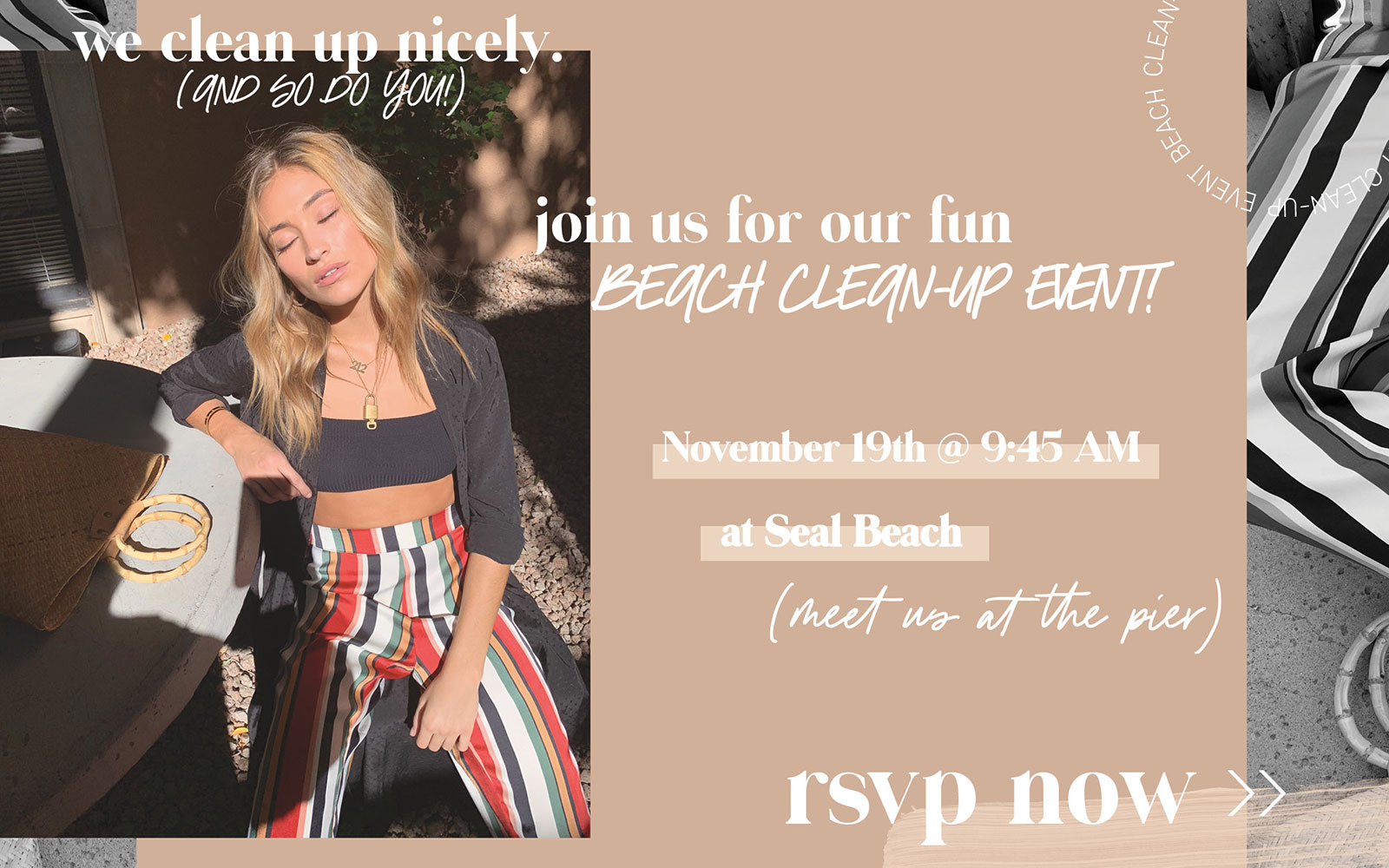 Join Saltwater Luxe's Beach Cleanup!