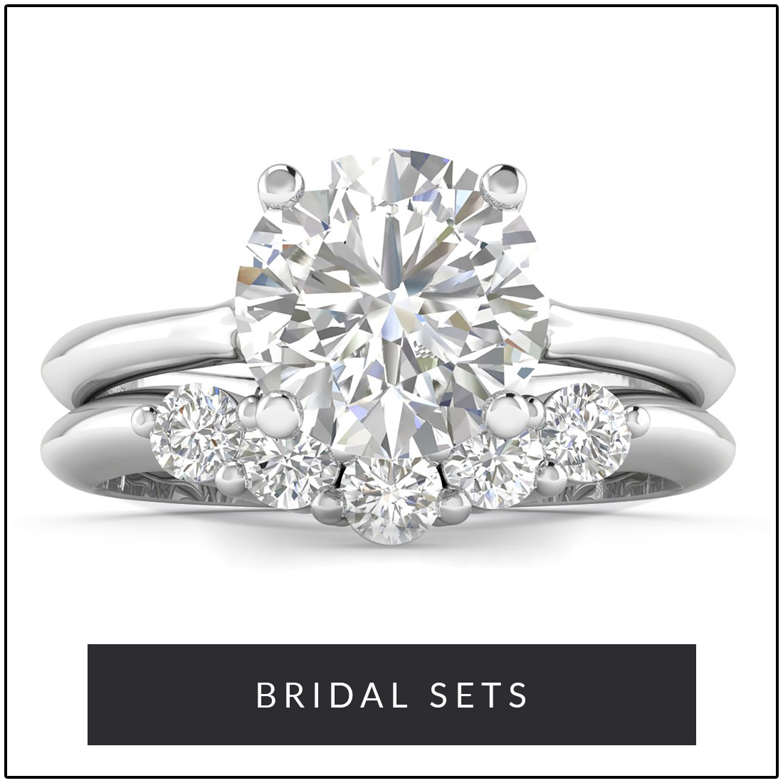 Engagement and Wedding Bridal Sets