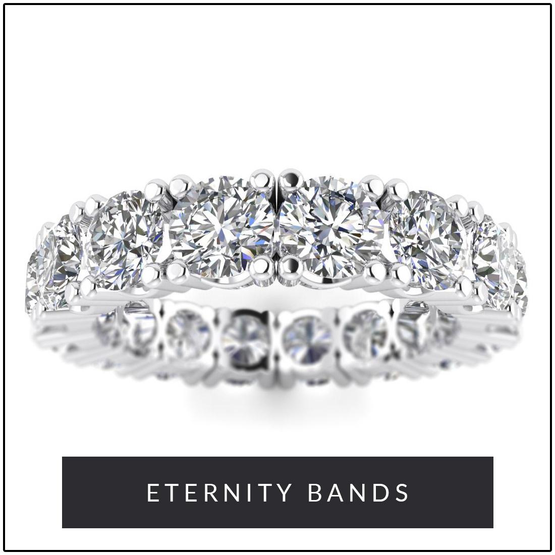 Diamond Eternity Bands